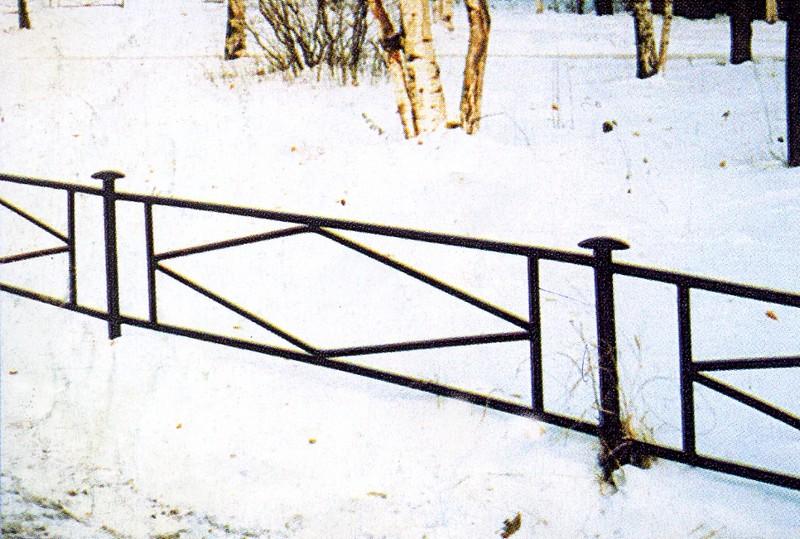 Забор для палисадника своими руками из профильной трубы